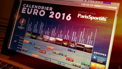 Calendrier Euro 2016 Excel